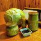 Zelí kvašené ve sklenicích