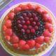 Rychlý, lehký ovocný dort