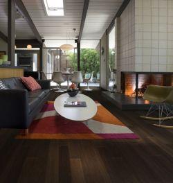 Dřevěná krytina Kährs, kolekce Linnea Living, dekor Dub Coffee FSC, prodává KPP