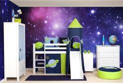 Dětský pokoj z masivu Space-milieu 1 - nábytek z e-shopu www.nabytek-aldo.cz