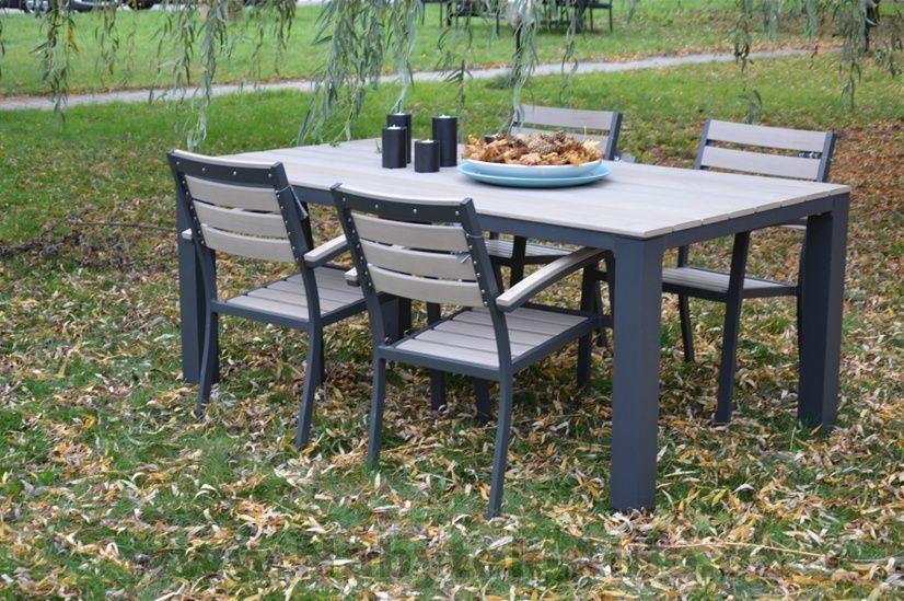 Zahradní nábytek Eco v sestavě, hliník-plast, cena: od 2 817 Kč (www.nabytek-aldo.cz)