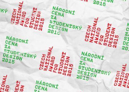 Národní cena za studentský design 2015 vyhlášena