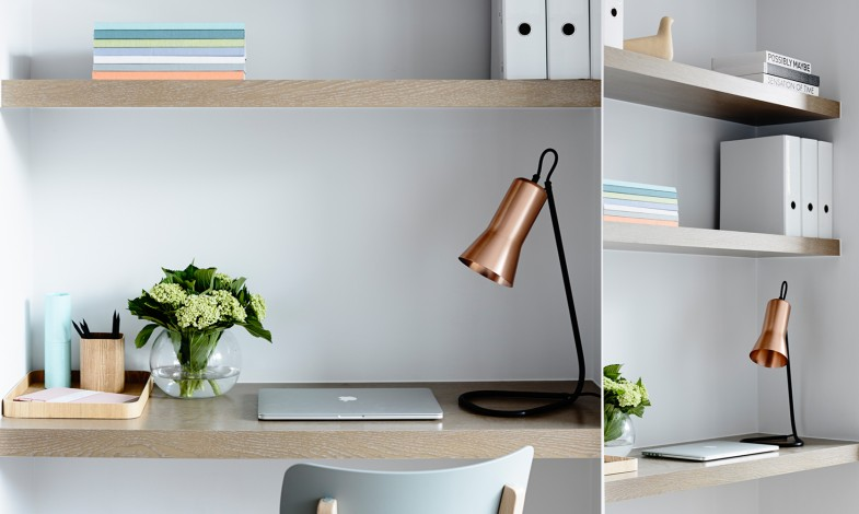 meubler un bureau interi r v pastelov ch barv ch