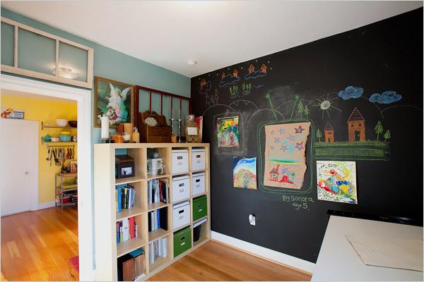 n padit a interaktivn v malby st n do d tsk ho pokoje. Black Bedroom Furniture Sets. Home Design Ideas