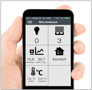 Pohodlné ovládání ze smartphonu