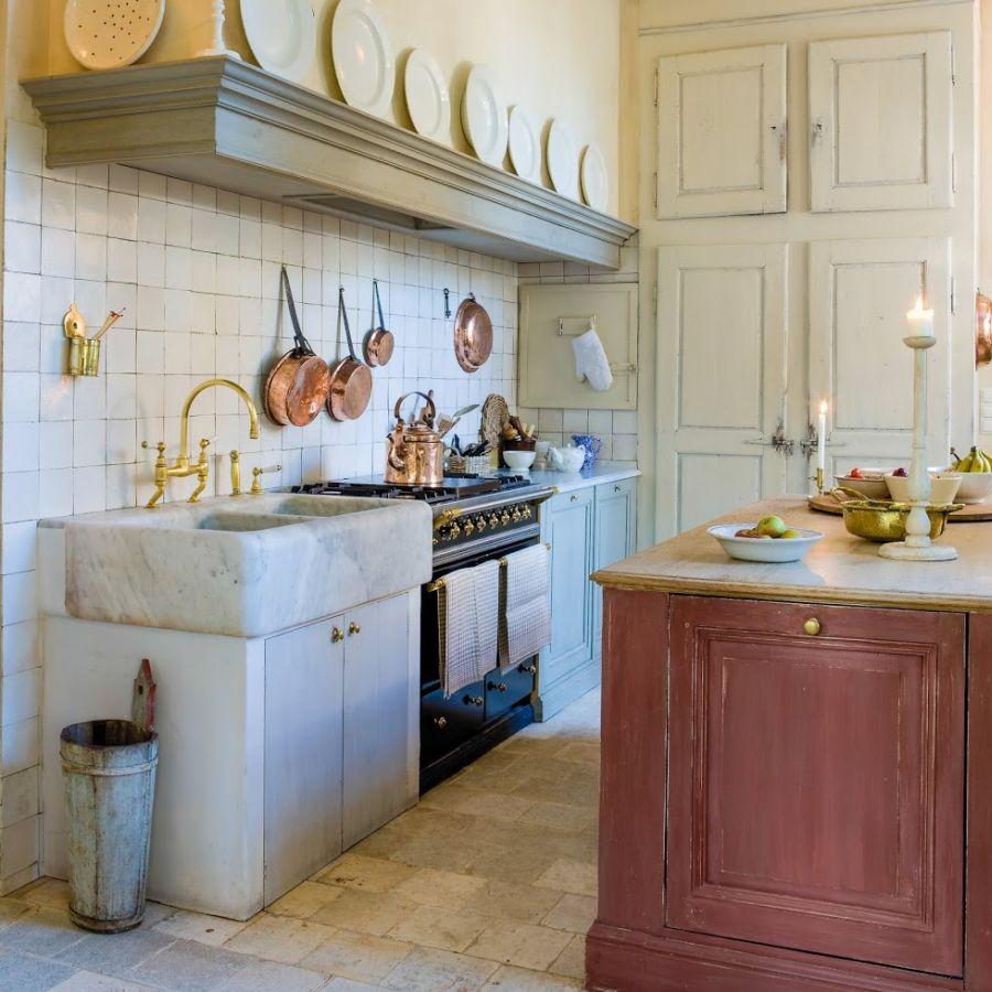 Koupelny A Kuchyně V Retro Stylu