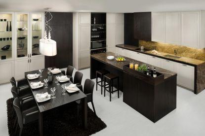 Kuchyně v country stylu, podle nejvyšší francouzské elegance či moderní kuchyně 3v1