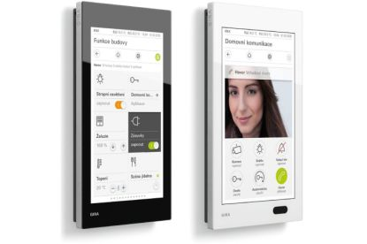 Nový multifunkční ovládací panel pro domovní techniku: Gira G1