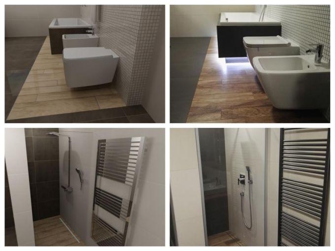 Porovnání grafického návrhu a skutečné fotky. Představte si svou koupelnu dřív, než do ní vstoupíte.