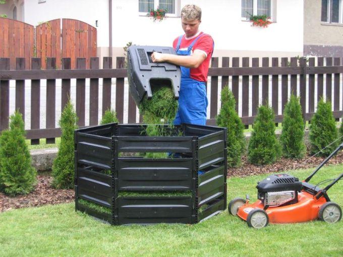 Pevný a kompaktní kompostér K390 pojme až 400 litrů biomasy, zdroj: Mountfield