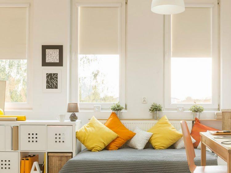 Rolety MAESTRA PROFIL v interiéru