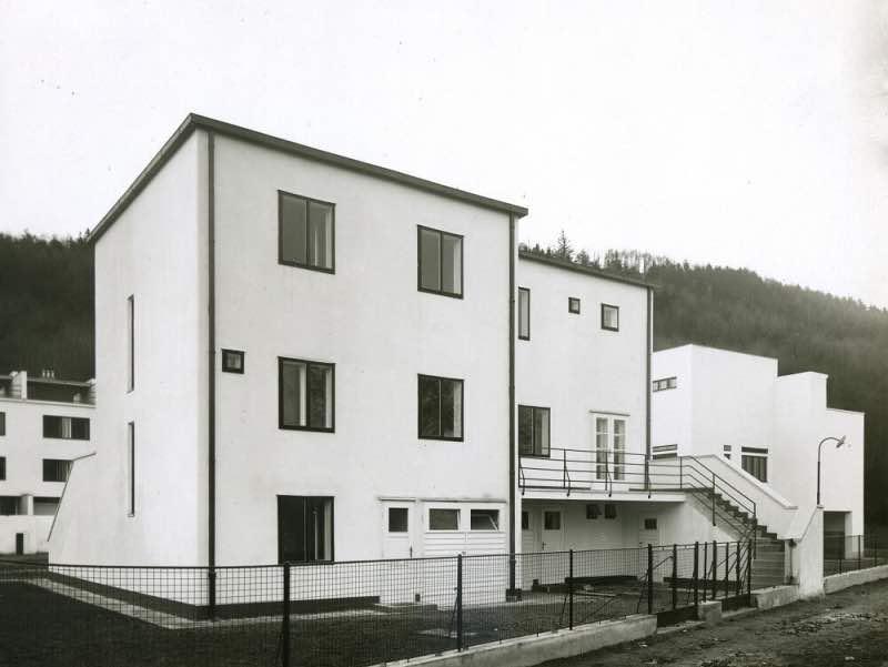 Kolonie Nový dům - dvojdům E. Wiesnera. Foto: Muzeum města Brna