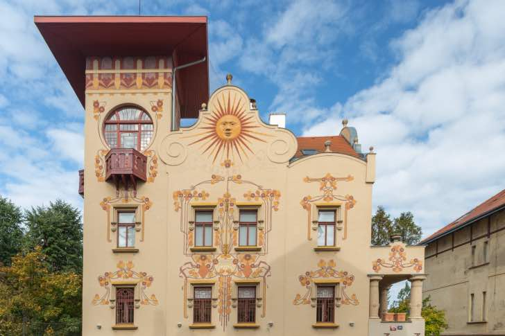 Vila Helenka - secesní unikát na pražském Smíchově